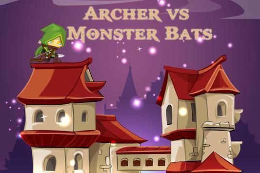 Archer vs Monster Bats apk screenshot