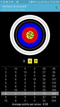 Archery Scorecard screenshot 3
