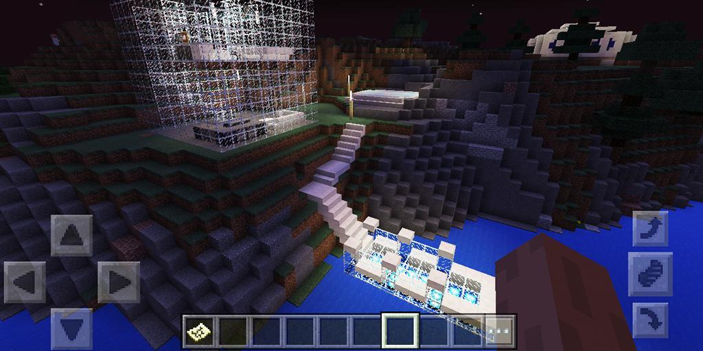 Minecraft Karte.Epische Klippen Base Karte Für Minecraft Für Android Apk