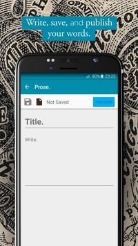 Prose. apk screenshot