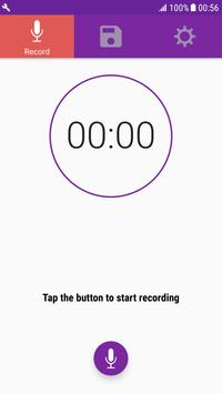 Quick Audio Recorder On Background & High Quality poster