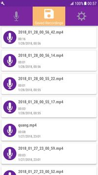 Quick Audio Recorder On Background & High Quality screenshot 2