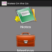 Notes On The Go icon