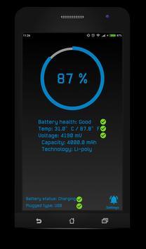 Battery controller screenshot 1
