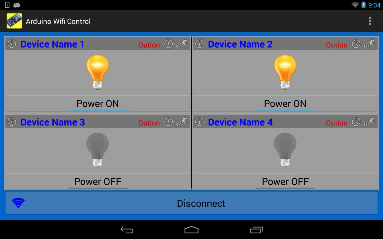 Arduino WiFi Control (ESP8266) for Android - APK Download
