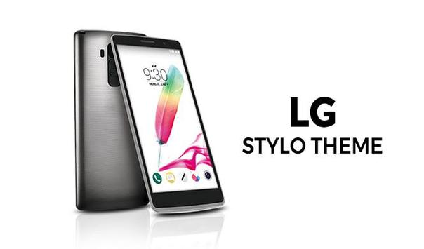 Launcher and theme LG Stylo poster