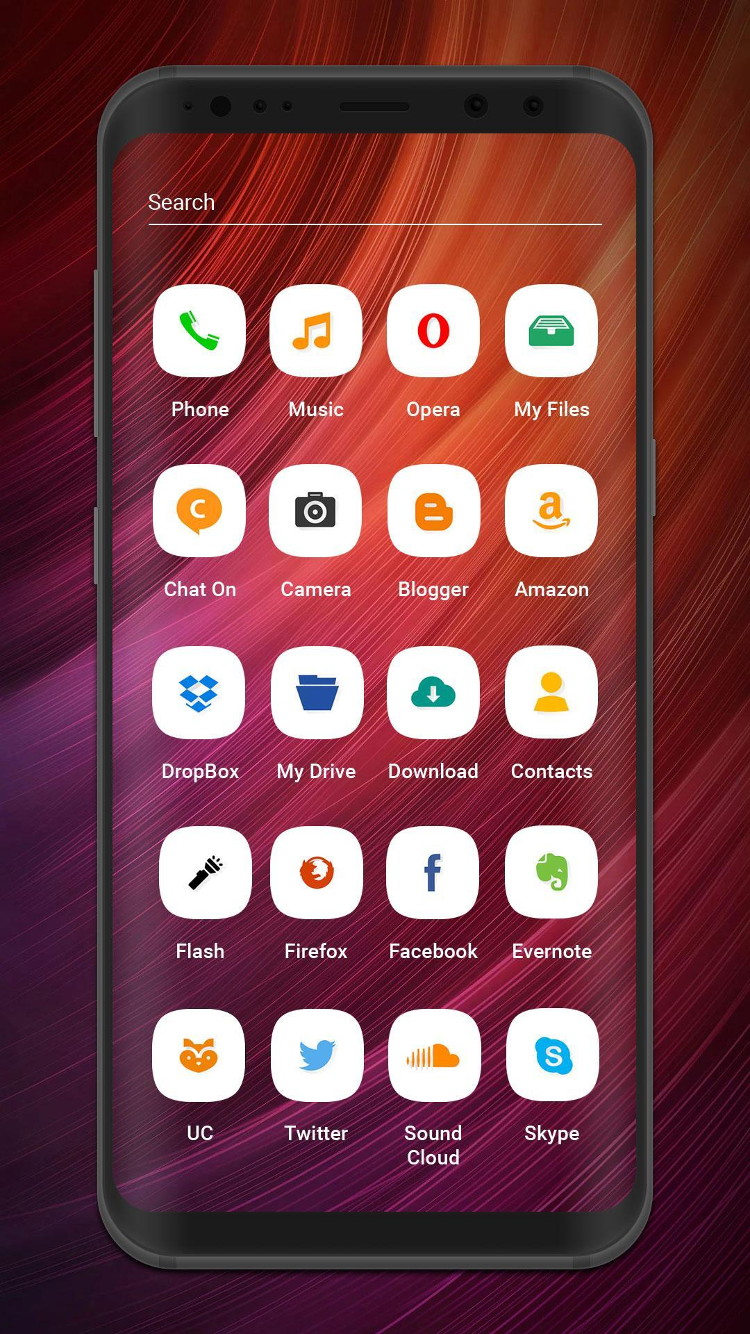 Launcher and theme for Xiaomi Redmi 4A for Android - APK