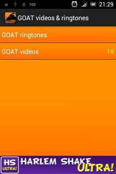 GOAT videos & ringtones poster