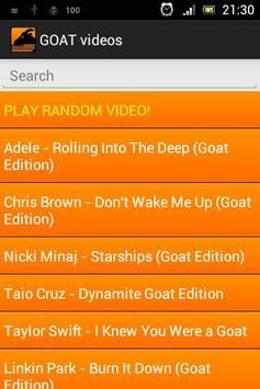 GOAT videos & ringtones screenshot 2