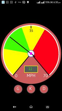 GPS SPEEDMETER apk screenshot