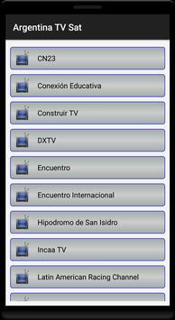 Argentina TV MK Sat Free screenshot 1