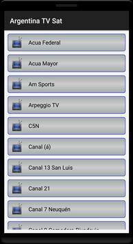 Argentina TV MK Sat Free screenshot 3