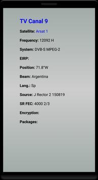 Argentina TV MK Sat Free screenshot 5