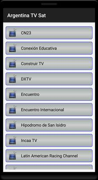 Argentina TV MK Sat Free screenshot 6