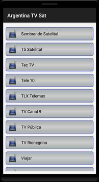 Argentina TV MK Sat Free screenshot 7