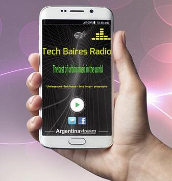 Tech Baires Radio poster