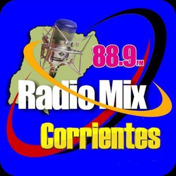 Radio FM MIX Corrientes 88.9 Mhz poster
