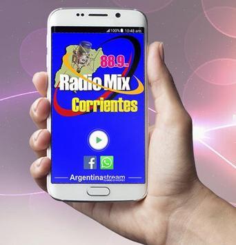 Radio FM MIX Corrientes 88.9 Mhz screenshot 1