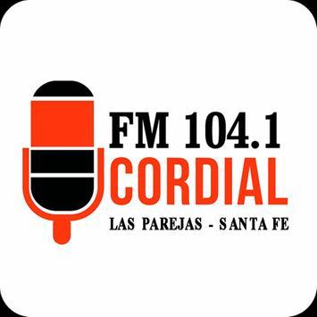 FM Cordial 104.1 Las Parejas poster