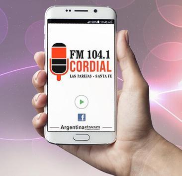 FM Cordial 104.1 Las Parejas screenshot 1