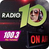 FM Radio Diez - 100.3 - El Soberbio - Misiones icon