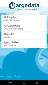 ArgeData Zeiterfassung apk screenshot