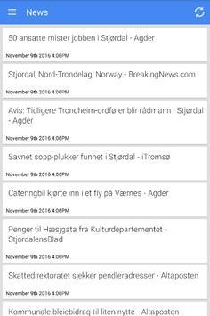 Stjørdalshalsen Nyheter poster