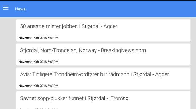 Stjørdalshalsen Nyheter apk screenshot