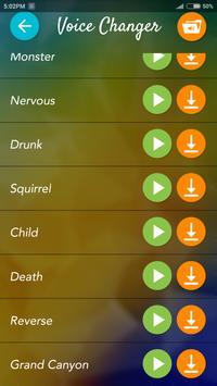 XYZ Voice Changer apk screenshot