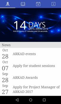TLTH ARKAD 2016 poster