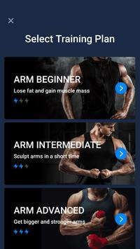 Arm Workout - Biceps Exercise पोस्टर