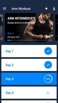 Treino para Braços -Exercícios de Bíceps e Tríceps imagem de tela 1