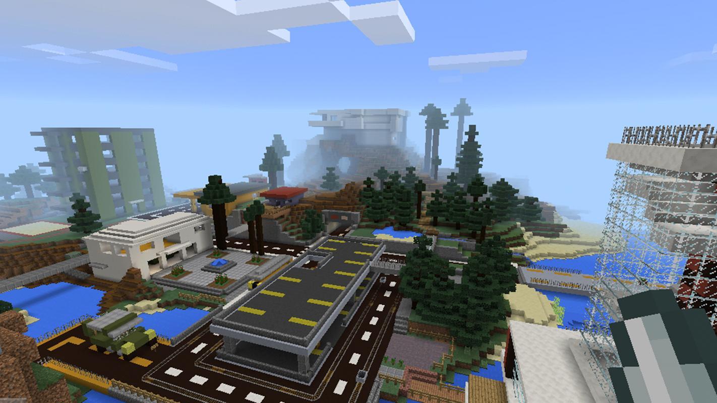 Militär Base Map Für Minecraft PE APKDownload Kostenlos - Kostenlose maps fur minecraft pe