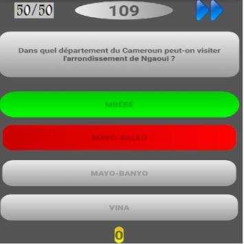 Cameroun Quizz screenshot 2