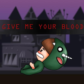 Give me your blood icon