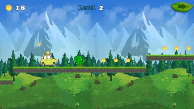 mr adventure bean Run apk screenshot