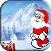 Santa xmax run icon