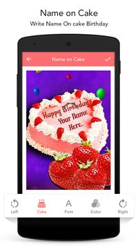 Name On Cake poster