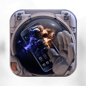 Astronaut Space Hero Theme icon