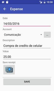 Hand Expenses apk screenshot
