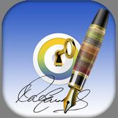 Signature Lock icon