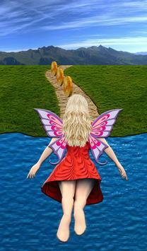 Flying Girl Runner. apk screenshot