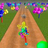 Baloony runner icon