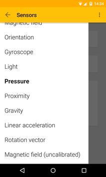 Sensors test cho Android - Tải về APK