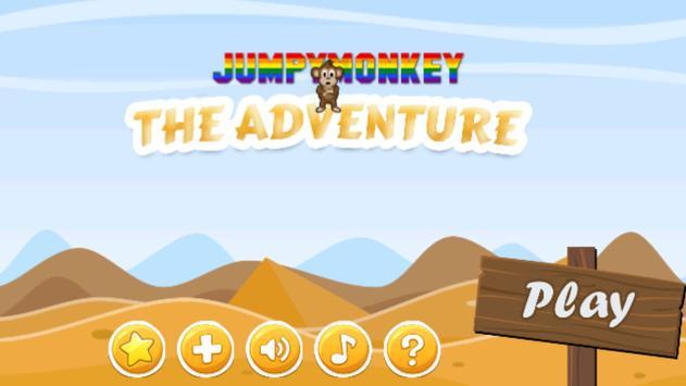 Jumpy Monkey poster