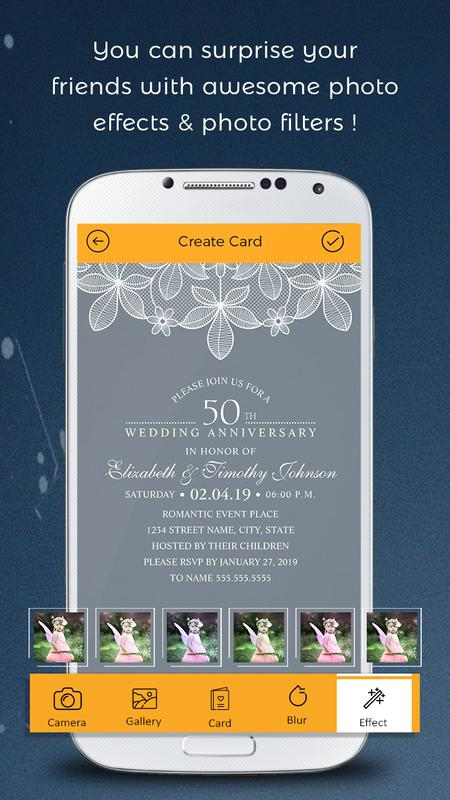 anniversary invitation card maker for android apk download