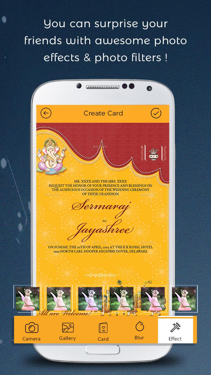 Hindu Wedding Invitation Card Maker For Android Apk Download