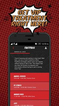 ComicCon screenshot 3