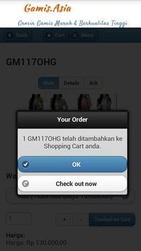 Toko Online Baju Gamis Terbaru apk screenshot
