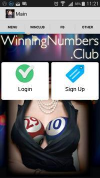 Winning Numbers Club - Lotto apk screenshot